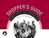 Plan Year 2012 Shopper's Guide - West Virginia Department of ...