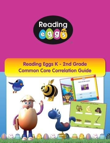 Reading Eggs K - 2nd Grade Common Core Correlation Guide