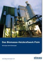 Das Biomasse-Heizkraftwerk Flohr - STEAG