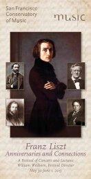 2013 ALS Festival Brochure and Registration Form - American Liszt ...