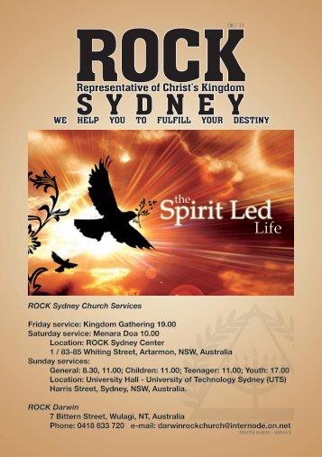 Dipimpin Roh - ROCK Sydney Indonesian Church