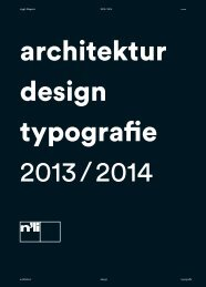 Download als PDF - Niggli Verlag