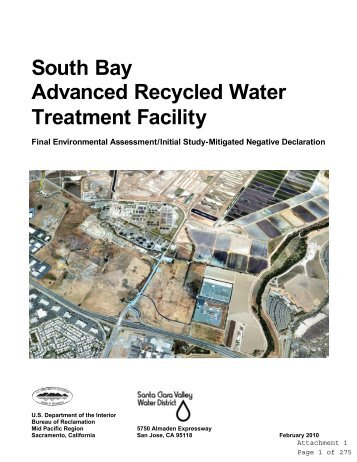 South Bay Advanced Recycled Water Treatment ... - City of San Jose