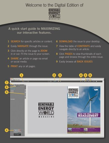 Renewable Energy World. Magazine, July/August 2013, Volume 16 ...