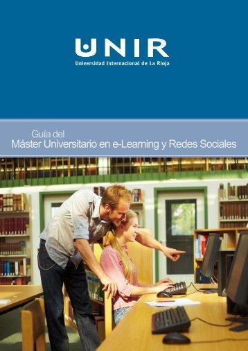 Máster Universitario en e-Learning y Redes Sociales - Accede al ...