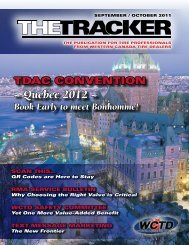 Quebec 2012 - Western Canada Tire Dealers