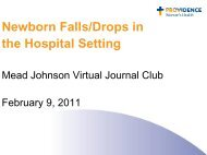 Newborn Falls/Drops - Mead Johnson Nutrition