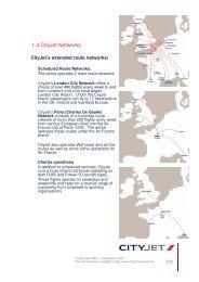 1.4 Cityjet Networks