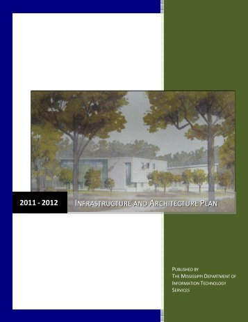 infrastructure and architecture plan - Mississippi Department of ...