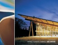TACKLE CLIMATE CHANGE, USE WOOD - Naturally:wood