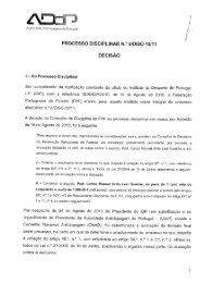 Acórdão - Instituto do Desporto de Portugal