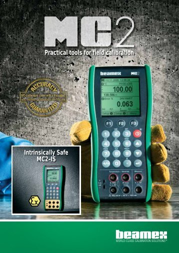 Beamex® MC2-IS - Control System