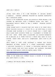 e-Novinky z Hranipexu I 05 I květen 2009