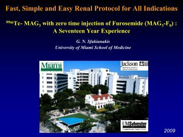 Kidney Introduction and Congenital - University of Miami