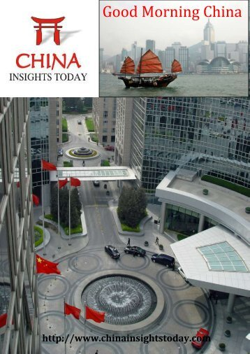 China Insights Today - Andrew Leung International Consultants ...