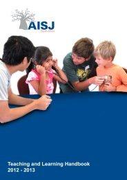 Teaching and Learning Handbook 2012 - 2013 - American ...