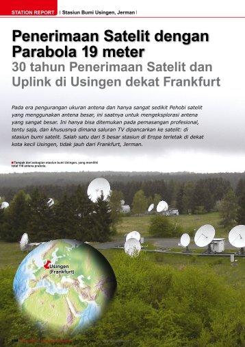 Penerimaan Satelit dengan Parabola 19 meter - TELE-satellite ...