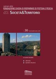 n.30 - Settembre/Dicembre 2010 - Fondazione Cassa di Risparmio ...