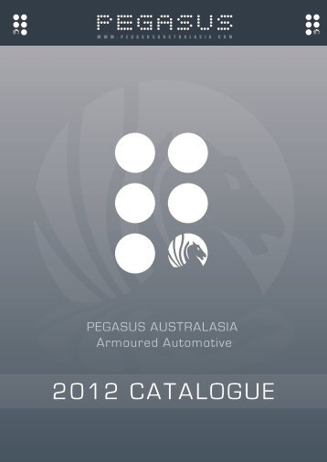 2012 CATALOGUE - pegasus