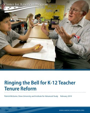 Ringing the Bell for K-12 Teacher Tenure Reform - Times Free Press