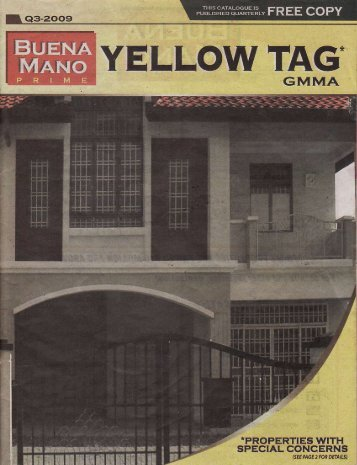 to download the Buena Mano Prime Yellow Tag GMMA Catalogue ...