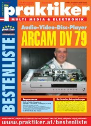 ARCAM DV 79: Audio-Video-Disc-Player - ITM ... - HOME praktiker.at