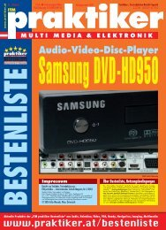Audio-Video-Disc-Player - HOME praktiker.at