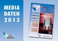 MEDIA DATEN 2013 - b-Quadrat Verlags Gmbh & Co. KG