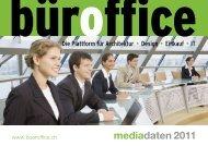 mediadaten 2011 - bueroffice.ch