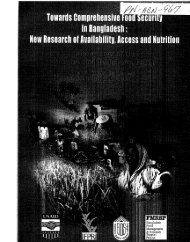 vailability, Access and Nutrition - part - usaid
