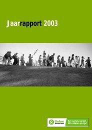 Jaarverslag 2003 - Oxfam-Solidariteit