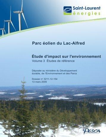 Volume 3 – Études de référence, 13 mars 2009, 32 pages ... - EDF EN