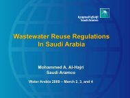 Wastewater Reuse Regulations In Saudi Arabia