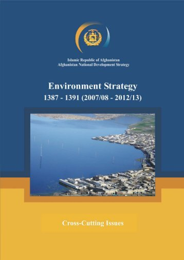 National Environment Strategy - Ministry of Mines
