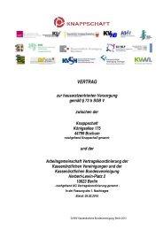 Vertrag zur hausarztzentrierten Versorgung gemäß § 73 b SGB V ...