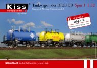 Flyer zum Download - Kiss Modellbahnen