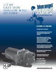 1/2 hp cast iron shallow well jet pUMp - Pump Express
