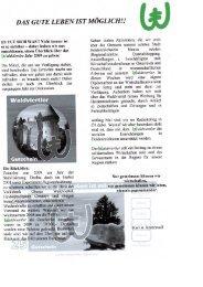 Zeitung Minimesse Mai 2010 - Waldviertler