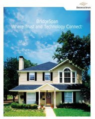 BridgeSpan Where Trust and Technology Connect™
