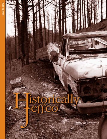 2012: Issue 33 - Historic Jeffco