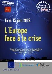 Télécharger le programme complet - Maison de l'Europe à Nantes