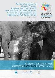 Regional Workshop to raise - Regional Climate Change Adaptation ...