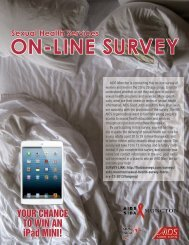 ON-LINE SURVEY Sexual Health Services - AIDS New Brunswick ...