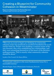 summary report -14th March community cohesion.pdf - Westminster ...