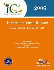 IFCC Annual Internet Fraud Report - Internet Crime Complaint Center