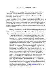 António Almeida Serra_Copperação do ISEG ... - adelinotorres.com