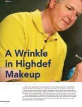 A Wrinkle in HD Makeup - highdef magazine - Page 6