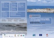 LIFE - Daba programmas projekta buklets - Baltijas Vides Forums
