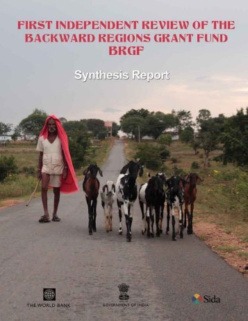 BRGF expenditures - National Institute of Rural Development