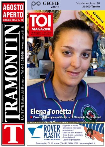 Elena Tonetta - Stol.it